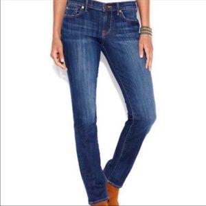 "LUCKY BRAND LOLA Slim-Straight Jeans 25/31.5"""